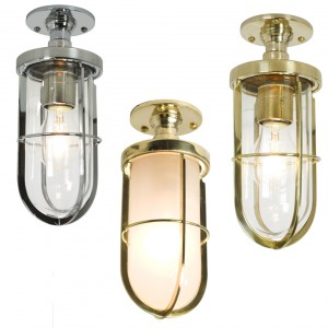 Davey Lighting 7204 Weatherproof Ships Well Glass Deckenleuchte