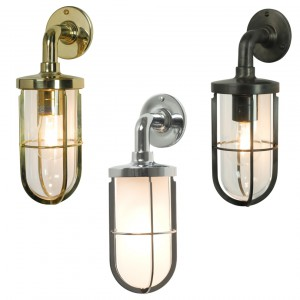 Davey Lighting 7207 Weatherproof Ships Well Glass Wandleuchte