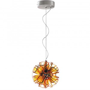 QisDESIGN Coral Ball LED-Pendelleuchte