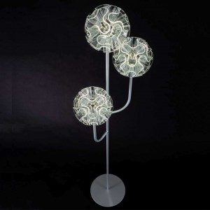 QisDESIGN Coral LED-Stehleuchte