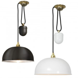 Davey Lighting Dome Rise & Fall Pendelleuchte