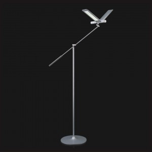 QisDESIGN Seagull LED-Stehleuchte