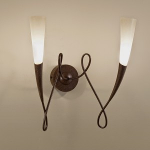 Terzani Virgins Wall sconce duo