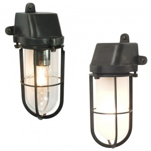 Davey Lighting 7401 Weatherproof Ships Well Glass Wandleuchte