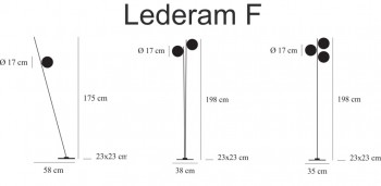 Catellani & Smith Lederam F LED Stehlampe