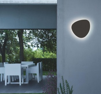 Bover Tria 04 LED Outdoor Wandleuchte