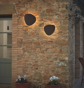 Bover Tria 05 LED Outdoor Wandleuchte