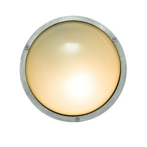 Davey Lighting Bulkhead Light rund Aluminium Wandleuchte