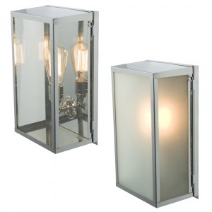 Davey Lighting Box Inernally Glazed medium Wandleuchte