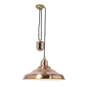 Davey Lighting School Lights Rise & Fall Pendelleuchte