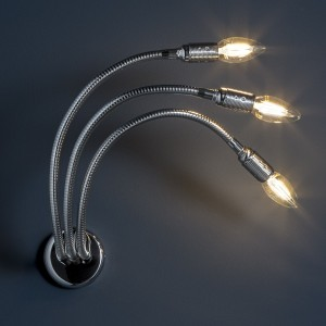 Catellani & Smith Turciu 3 LED Wandleuchte