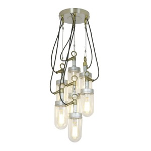 Davey Lighting Well Glass Pendant 7 Pendelleuchte