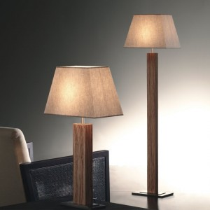 Bover Tau Madera Stehleuchte