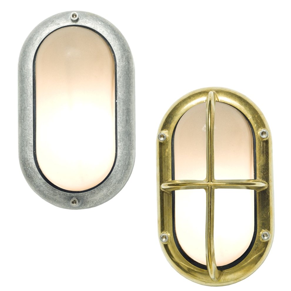Davey Lighting Bulkhead Light small Oval Wandleuchte